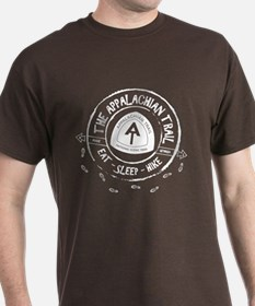 Appalachian Trail Eat-sleep-hike T-Shirt