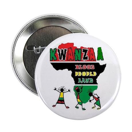 """Kwanzaa 2.25"""" Button (100 pack)"""