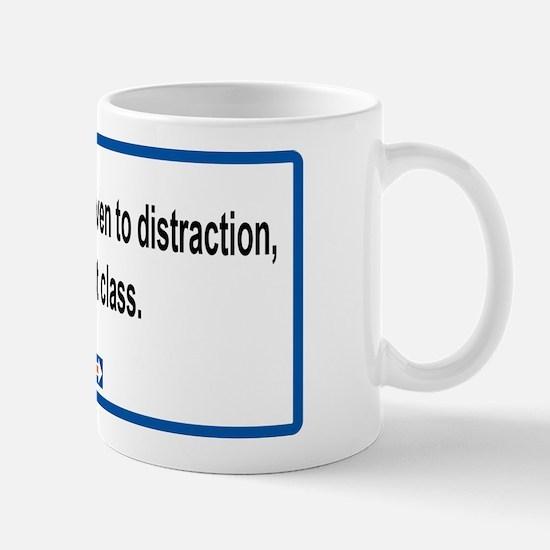 Driven To Distraction Mug Mugs