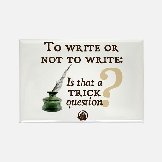 To Write or Not to Write Rectangle Magnet (10 pack