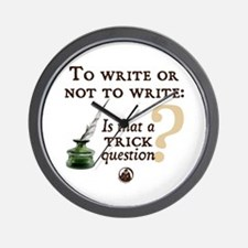 To Write or Not to Write Wall Clock
