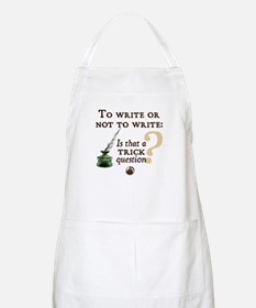 To Write or Not to Write BBQ Apron
