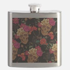 Funny Sugar skull Flask
