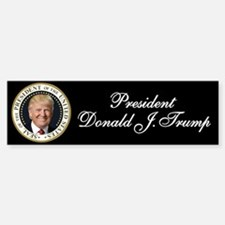Trump Presidential Seal Bumper Bumper Sticker