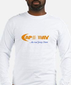 Cape May the Real Jersey Shore Long Sleeve T-Shirt