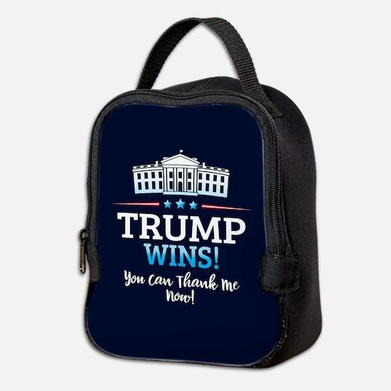Trump Wins Neoprene Lunch Bag