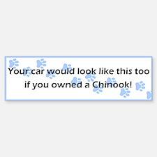 Your Car Chinook Bumper Bumper Bumper Sticker