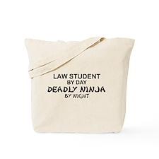 Law Student Deadly Ninja Tote Bag