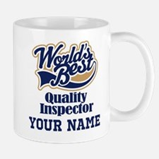 Quality Inspector Personalized Gift Mugs