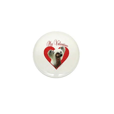Crested Valentine Mini Button (10 pack)