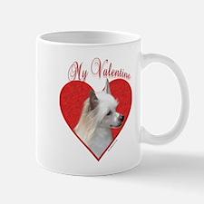 Crested(powder) Valentine Mug