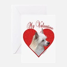 Crested(powder) Valentine Greeting Card