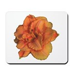 Coral Double Daylily Mousepad