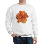 Coral Double Daylily Sweatshirt