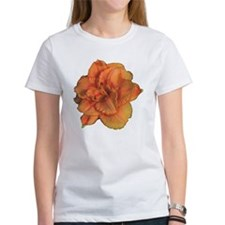 Coral Double Daylily Tee