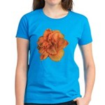 Coral Double Daylily Women's Dark T-Shirt