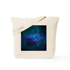 Blue Vortex Tote Bag