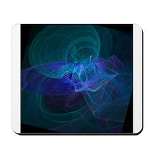 Blue Vortex Mousepad