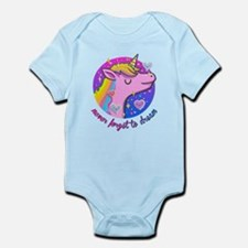 Never Forget to Dream Unicorn Body Suit
