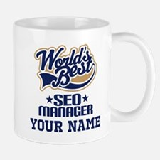 SEO Manager Personalized Gift Mugs