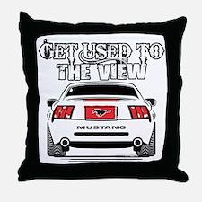 Cute Mustang Throw Pillow
