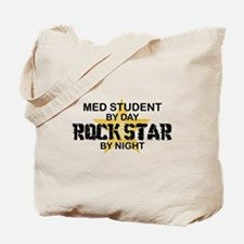 Med Student Rock Star Tote Bag