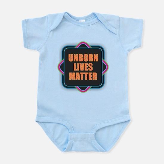 Unborn Lives Matter Body Suit