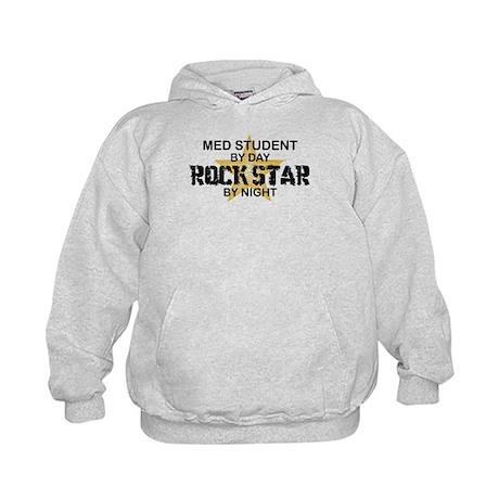 Med Student Rock Star Kids Hoodie