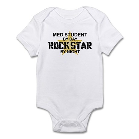Med Student Rock Star Infant Bodysuit