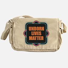 Unborn Lives Matter Messenger Bag
