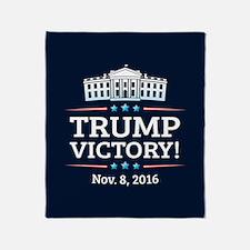 Trump Victory Throw Blanket