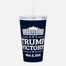 Trump Victory Acrylic Double-wall Tumbler
