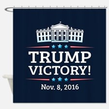 Trump Victory Shower Curtain