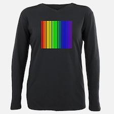 rainbow barcode T-Shirt