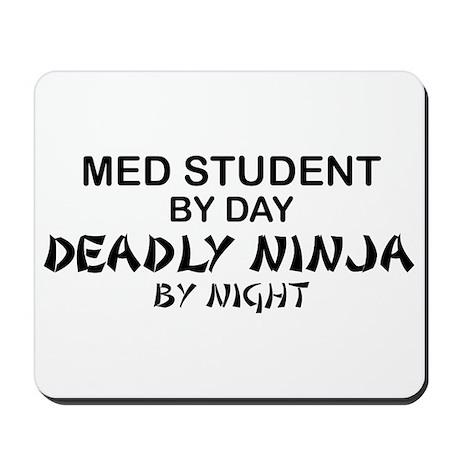 Med Student Deadly Ninja Mousepad