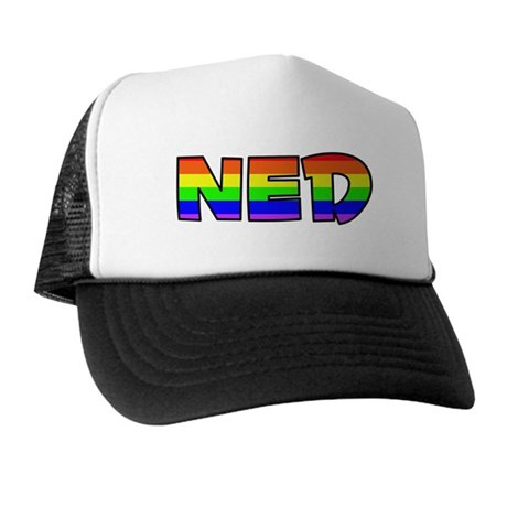 Ned Gay Pride (#004) Trucker Hat