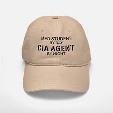 Med Student CIA Agent Baseball Baseball Cap