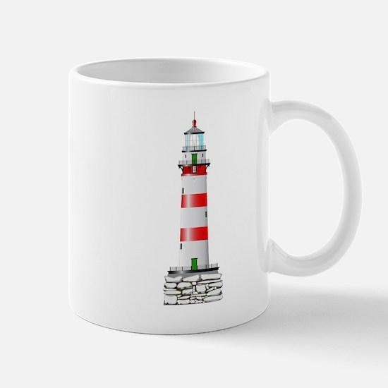 Isolated Lighthouse Mugs