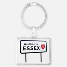 Funny Towie Landscape Keychain
