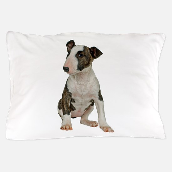 Bull Terrier Photo Pillow Case