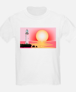 Lighthouse Sunset T-Shirt