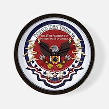 Donald Trump Sr. Inauguration 2017 Wall Clock