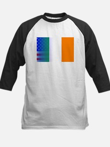 Irish Flag Stars and Stripes Baseball Jersey