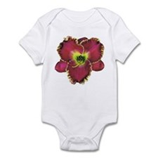 Purple w/ Gold Edge Daylily Infant Bodysuit