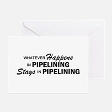 Whatever Happens - Pipelinin Greeting Cards