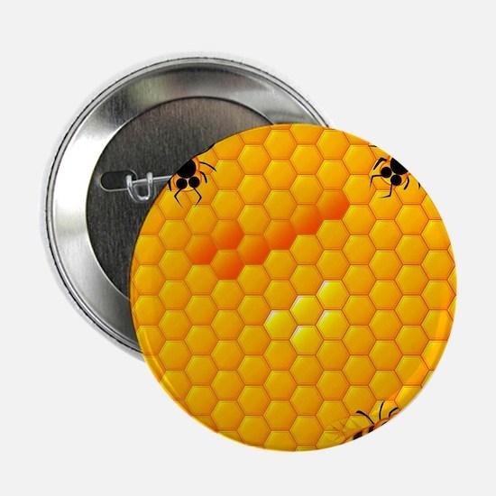 "Honeycomb 2.25"" Button"