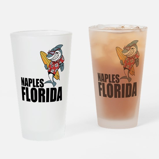 Naples, Florida Drinking Glass