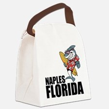 Naples, Florida Canvas Lunch Bag
