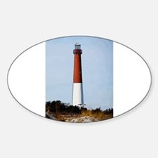 Old Barney Lighthouse Decal