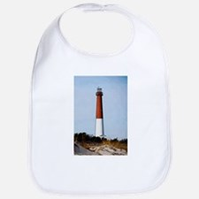 Old Barney Lighthouse Baby Bib